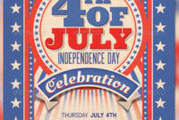 4Th Of Julycreativeartx   Graphicriver Pertaining To 4Th Of July Menu Template