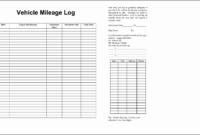 6 Truck Mileage Log Template Sampletemplatess Pertaining To Vehicle Fuel Log Template