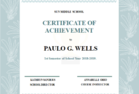 Best Templates: Student Achievement Certificates Templates Within Academic Achievement Certificate Template