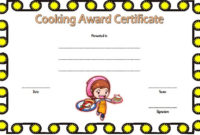 Cooking Competition Certificate Templates 7+ Best Ideas Intended For Amazing 7 Science Fair Winner Certificate Template Ideas