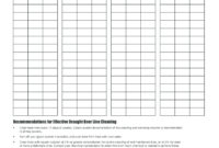 Draught Beer Line Cleaning Fill Online, Printable Within Restroom Cleaning Log Template