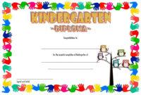 Kindergarten Diploma Certificate Templates: 10+ Designs Free Intended For Pre Kindergarten Diplomas Templates Printable Free