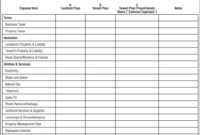 Rent Payment Tracker Spreadsheet: 10+ Best Documents Free With Regard To Rental Payment Log Template