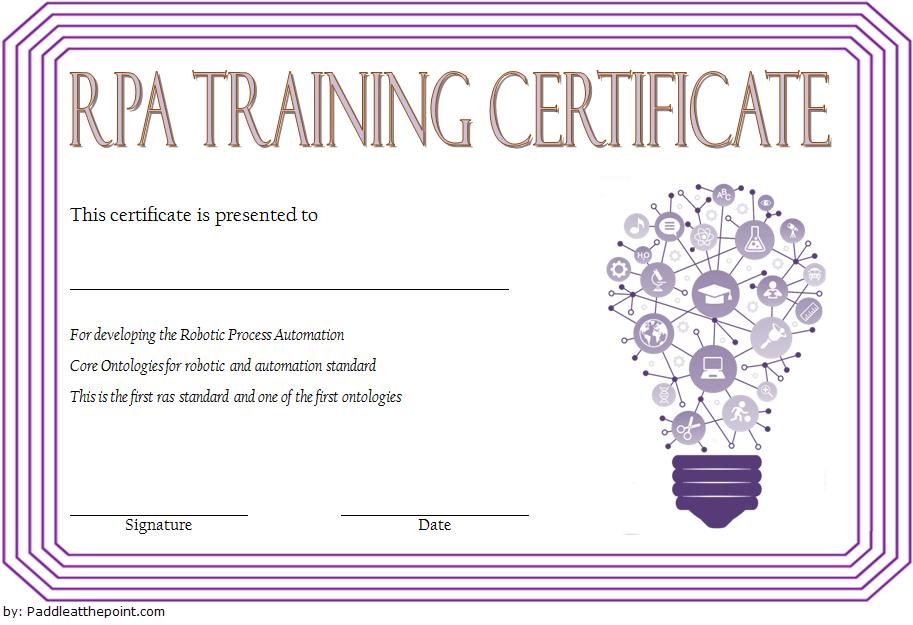 Robotics Certificate Template Free [9+ Great Designs] For Amazing 7 Science Fair Winner Certificate Template Ideas