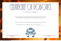Robotics Certificate Template Free [9+ Great Designs] With Regard To Awesome 7 Science Fair Winner Certificate Template Ideas