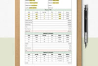 Commercial Construction Bid Estimate Template [Free Pdf With Regard To Fantastic Drywall Estimate Template