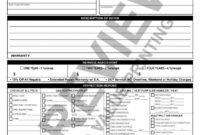 Computer Repair Checklist Template In Free Computer Repair Estimate Template