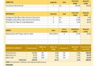 Download Plumbing Estimate Template V2 | Estimate Template Inside Fantastic Deck Estimate Template